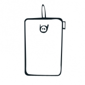 Button With Rubber Strap Handphone Case (Vertical)